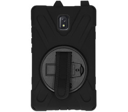 TPL Extreme Backcover met strap Galaxy Tab Active 3 - Zwart (D)