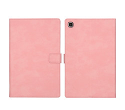 iMoshion iMoshion Luxe Tablethoes Samsung Galaxy Tab A7 - Roze (D)