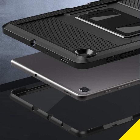 Accezz Rugged Back Case Samsung Galaxy Tab S6 Lite - Zwart (D)