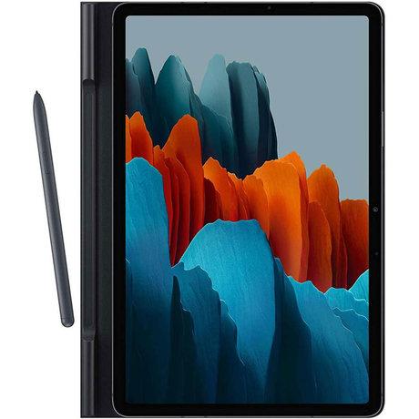 Book Cover Samsung Galaxy Tab S7 - Zwart (D)