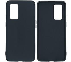 iMoshion iMoshion Color Backcover OnePlus 9 - Zwart (D)