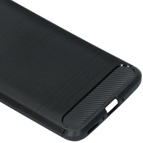 Brushed Backcover OnePlus 7 Pro - Zwart (D)