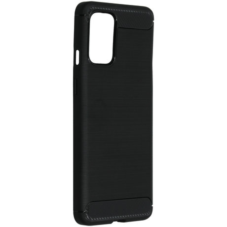 Brushed Backcover OnePlus 8T - Zwart (D)