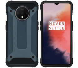 iMoshion iMoshion Rugged Xtreme Backcover OnePlus 7T - Donkerblauw (D)