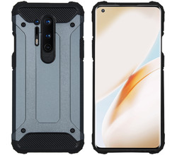 iMoshion iMoshion Rugged Xtreme Backcover OnePlus 8 Pro - Donkerblauw (D)