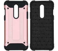 iMoshion iMoshion Rugged Xtreme Backcover OnePlus 8 - Rosé Goud (D)