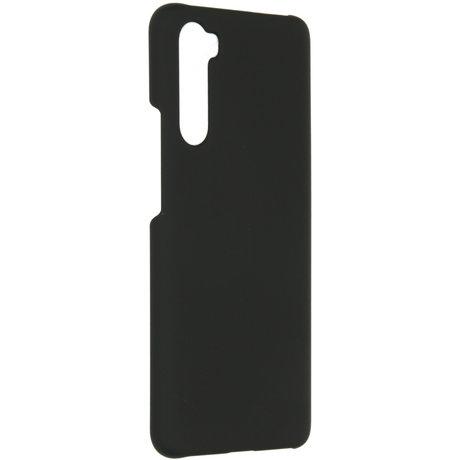 Effen Backcover OnePlus Nord - Zwart (D)