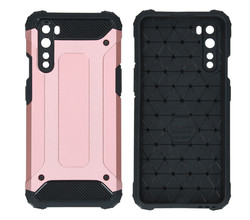 iMoshion iMoshion Rugged Xtreme Backcover OnePlus Nord - Rosé Goud (D)