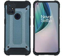 iMoshion iMoshion Rugged Xtreme Backcover OnePlus Nord N10 5G - Donkerblauw (D)