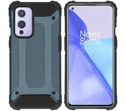 iMoshion iMoshion Rugged Xtreme Backcover OnePlus 9 - Donkerblauw (D)