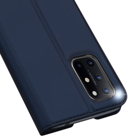 Dux Ducis Slim Softcase Booktype OnePlus 8T - Donkerblauw (D)
