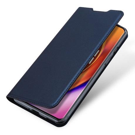 Dux Ducis Slim Softcase Booktype OnePlus 8 Pro - Donkerblauw (D)