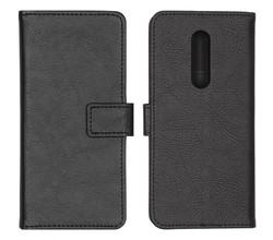 iMoshion iMoshion Luxe Booktype OnePlus 8 - Zwart (D)
