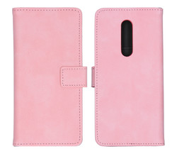 iMoshion iMoshion Luxe Booktype OnePlus 8 - Roze (D)