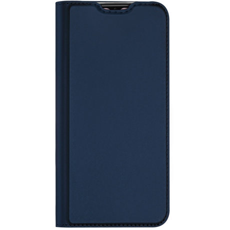 Dux Ducis Slim Softcase Booktype OnePlus 7T - Donkerblauw (D)