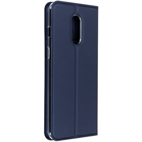 Dux Ducis Slim Softcase Booktype OnePlus 7 - Blauw (D)