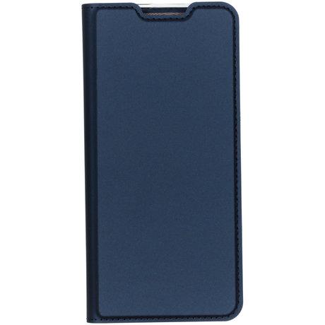 Dux Ducis Slim Softcase Booktype OnePlus 7 Pro - Donkerblauw (D)