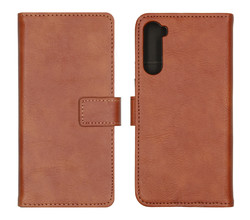 iMoshion iMoshion Luxe Booktype OnePlus Nord - Bruin (D)
