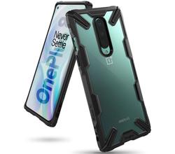 Ringke Ringke Fusion X Backcover OnePlus 8 - Zwart (D)