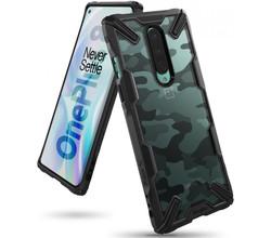 Ringke Ringke Fusion X Design Backcover OnePlus 8 - Camo Zwart (D)