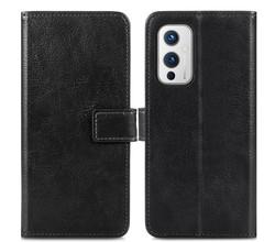 iMoshion iMoshion Luxe Booktype OnePlus 9 - Zwart (D)