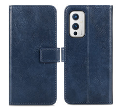 iMoshion iMoshion Luxe Booktype OnePlus 9 - Donkerblauw (D)