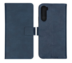 iMoshion iMoshion Luxe Booktype OnePlus Nord - Donkerblauw (D)