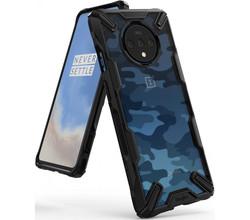 Ringke Ringke Fusion X Design Backcover OnePlus 7T - Camo Zwart (D)