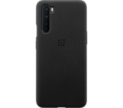 OnePlus Sandstone Protective Backcover OnePlus Nord - Zwart (D)