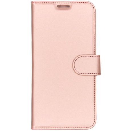 Accezz Wallet Softcase Booktype OnePlus 7 - Rosé Goud (D)