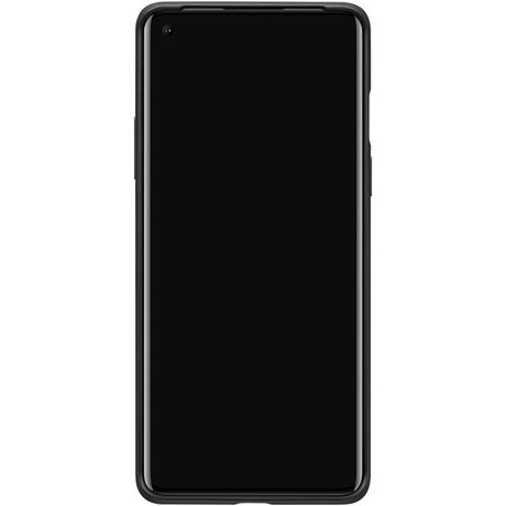 Carbon Protective Backcover OnePlus 8 - Zwart (D)