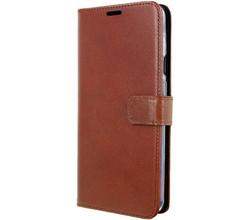 Valenta Valenta Leather Booktype OnePlus 7 - Bruin (D)