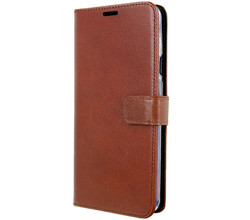 Valenta Valenta Leather Booktype OnePlus 7 Pro - Bruin (D)