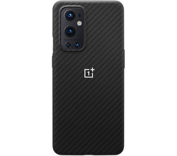 OnePlus Carbon Protective Backcover OnePlus 9 Pro - Zwart (D)