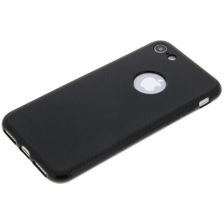 Carbon Softcase Backcover iPhone 8 / 7 (D)