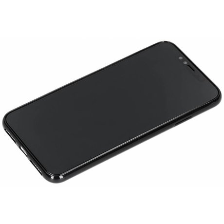 Carbon Softcase Backcover iPhone Xs Max (D)