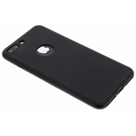 Carbon Softcase Backcover iPhone 8 Plus / 7 Plus (D)