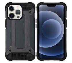 iMoshion iMoshion Rugged Xtreme Backcover iPhone 13 Pro - Zwart (D)