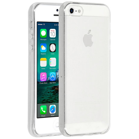 Accezz Clear Backcover iPhone 5 / 5s / SE - Transparant (D)