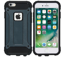 iMoshion iMoshion Rugged Xtreme Backcover iPhone 6 / 6s - Donkerblauw (D)