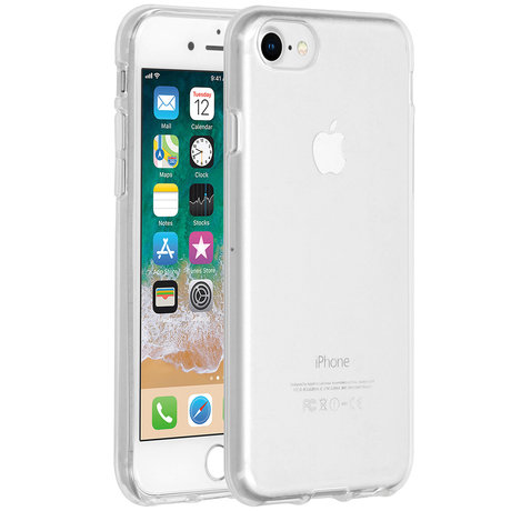 Accezz Clear Backcover iPhone SE (2020) / 8 / 7 / 6(s) (D)