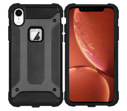 iMoshion iMoshion Rugged Xtreme Backcover iPhone Xr - Zwart (D)