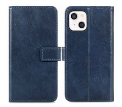 iMoshion iMoshion Luxe Booktype iPhone 13 - Donkerblauw (D)