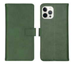 iMoshion iMoshion Luxe Booktype iPhone 12 Pro Max - Groen (D)