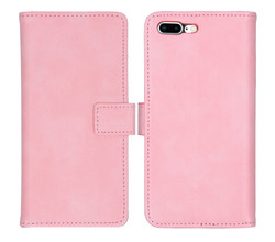 iMoshion iMoshion Luxe Booktype iPhone 8 Plus / 7 Plus - Roze (D)