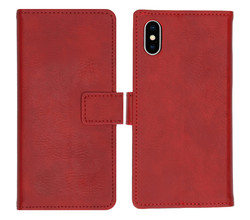 iMoshion iMoshion Luxe Booktype iPhone Xs / X - Rood (D)