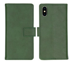 iMoshion iMoshion Luxe Booktype iPhone Xs / X - Groen (D)