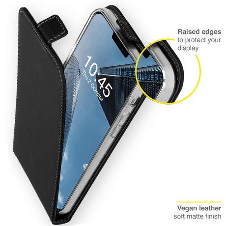 Accezz Flipcase iPhone 13 - Zwart (D)