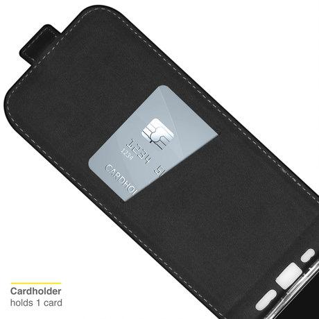 Accezz Flipcase iPhone 13 Mini - Zwart (D)