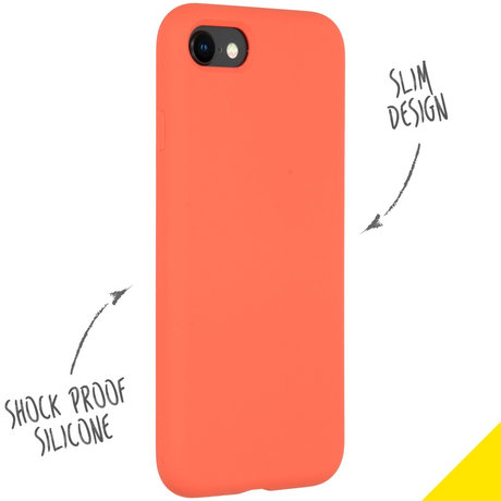 Accezz Liquid Silicone Backcover iPhone SE (2020) / 8 / 7 (D)